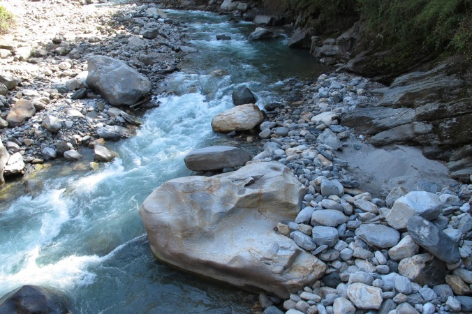 Boulders in a River