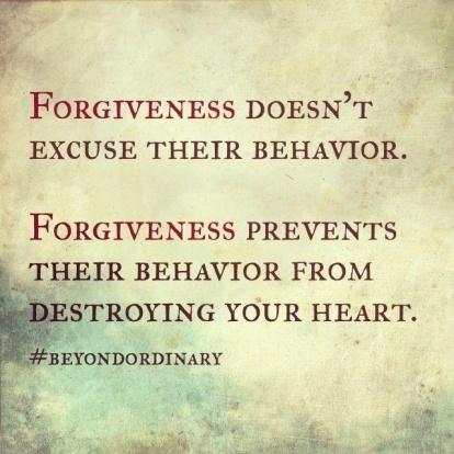 Forgiveness statement