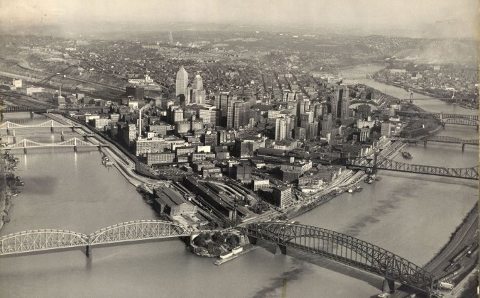 Pittsburgh-Black-and-White