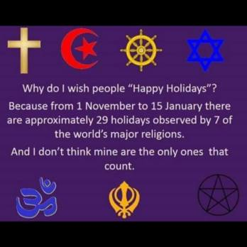 happy holidays belong to us all a practitioner s path