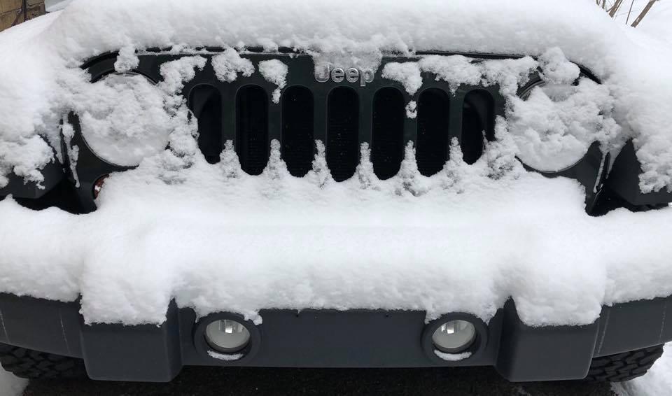 Winter Jeep Smile