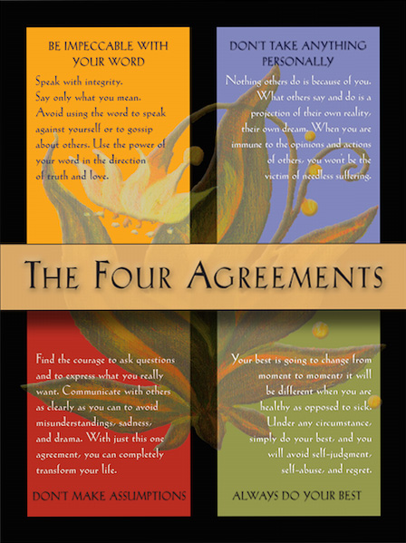 The 4 Agreements At Work A Practitioners Path