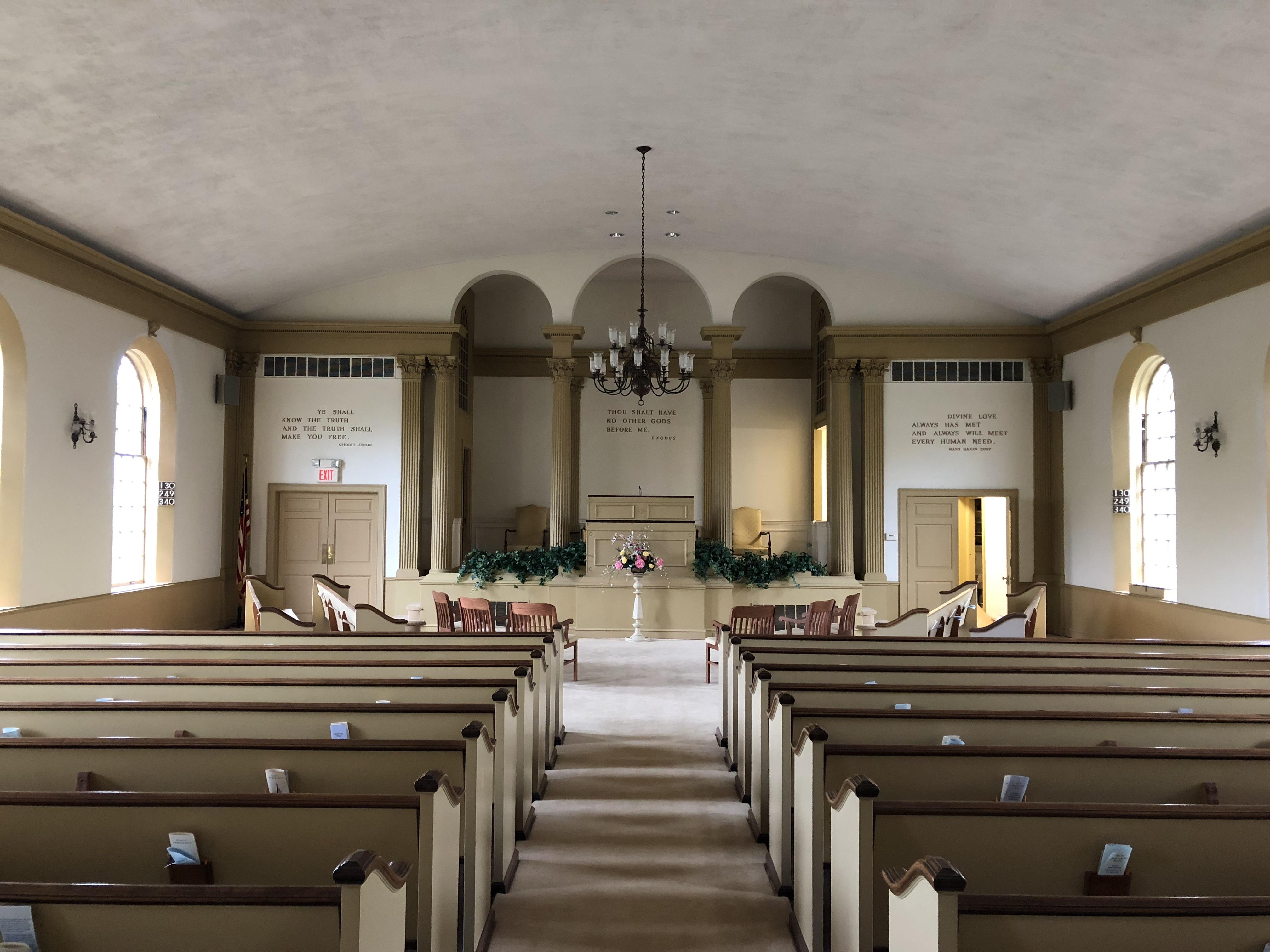Mt Lebanon Chr Sc Church