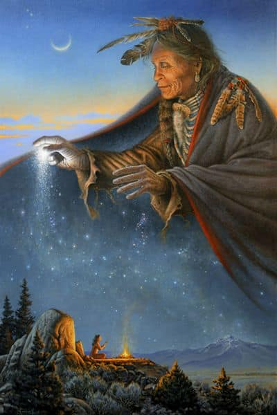 Great Spirit Caring Good deeds Practitioner's Path