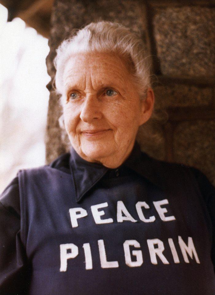 Peace Pilgrim Practitioner's Path Present moment Good