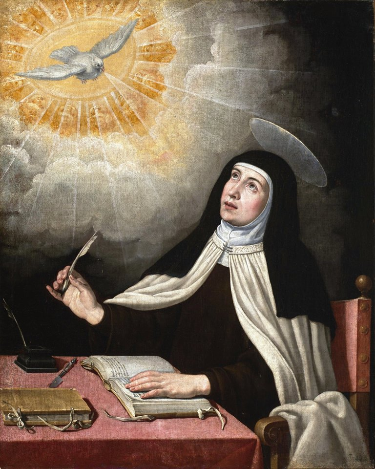 St Teresa of Avila Practitioner's Path Endurance Peace